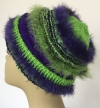 grün-violett